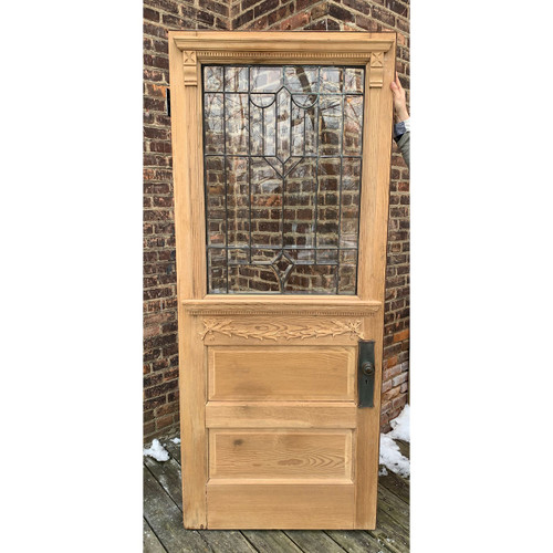 "D21004 - Antique Pine Exterior Door 34"" x 81-1/2"""