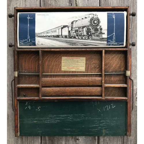 F21024 - Antique Folding Desk with Chalkboard
