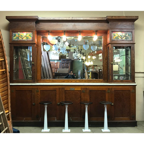 F21025 - Arts & Crafts Back Bar
