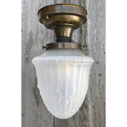 L21052 - Antique Colonial Revival Flush Mount Fixture