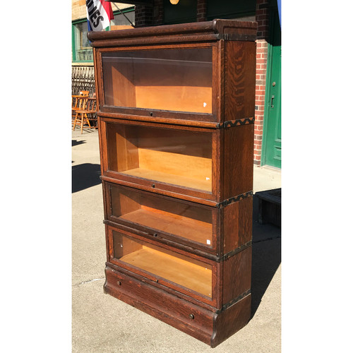 F21042 - Antique Barrister Bookcase