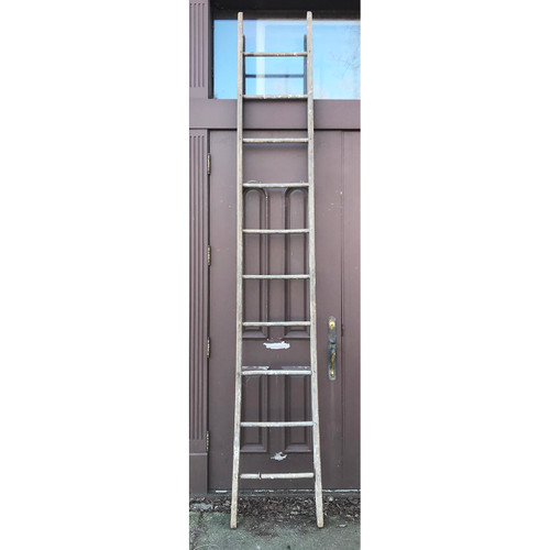 A21051 - Antique 11 Foot Ladder