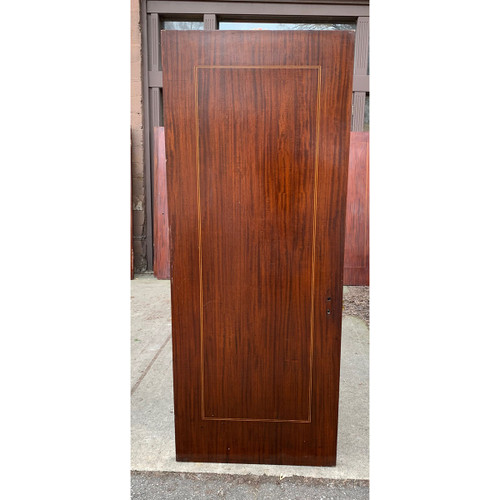 "D21028 - Antique Mahogany Flush Interior Door 31-7/8"" x 80"""