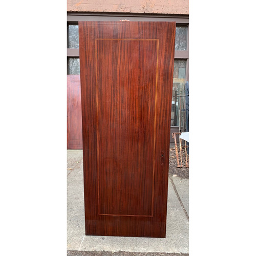 "D21029 - Antique Mahogany Flush Interior Door 31-3/4"" x79-3/4"""