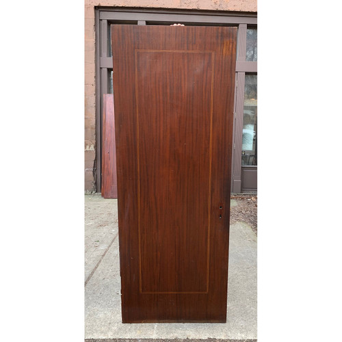 "D21030 - Antique Mahogany Flush Interior Door 29-5/8"" x 80"""