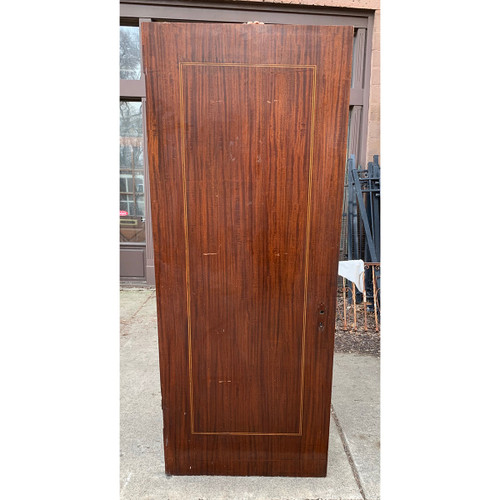"D21031 - Antique Mahogany Flush Interior Door 31-3/4"" x 79-3/4"""