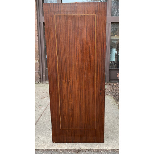 "D21032 - Antique Mahogany Flush Interior Door 31-5/8"" x 79-7/8"""