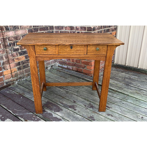 F21064 - Antique Arts & Crafts Desk