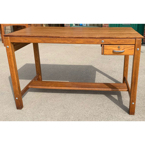 F21065 - Vintage Oak  Kitchen Island or Work Table