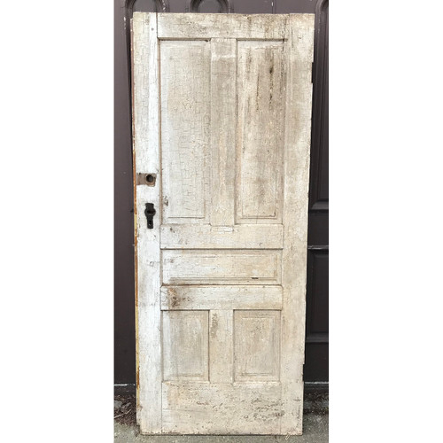 "D21041 - Antique Five Traditional Panel Interior Door 32"" x 79"""