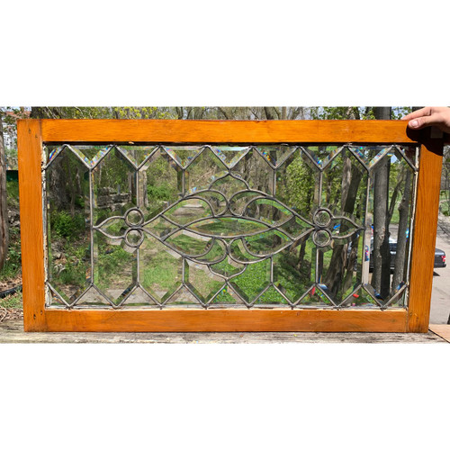 G21023 - Antique Beveled & Jeweled Transom