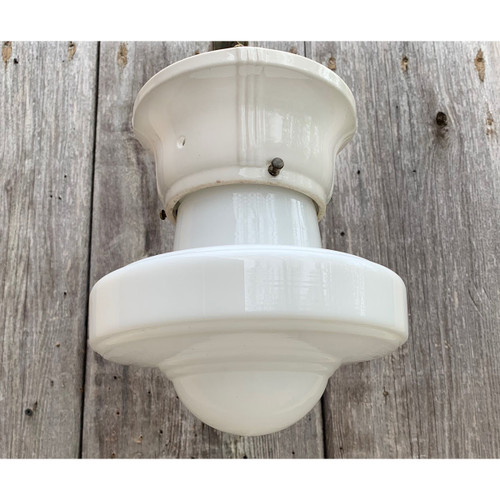 L21115 - Antique Art Deco Flush Mount Fixture