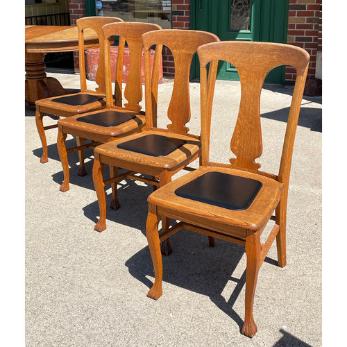 F21084 - Set of Four Antique Chairs