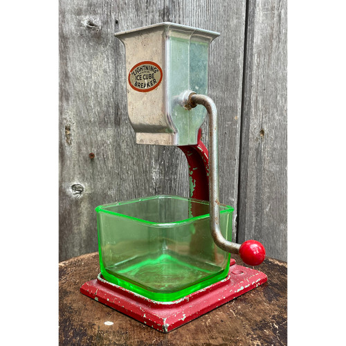 A21086 - Antique Ice Crusher