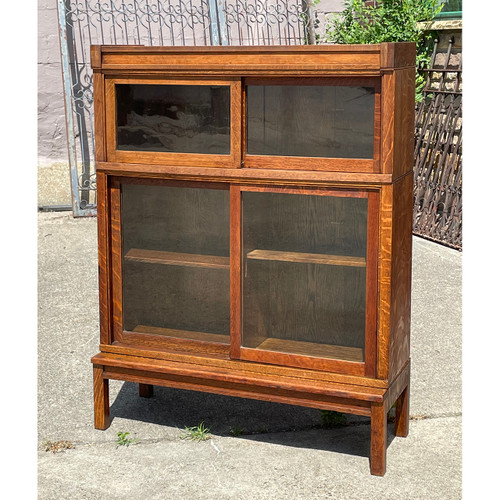 """F21107 - Antique """"Danner"""" Bookcase *More Available*"""