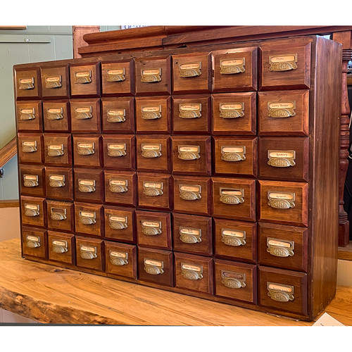 F21126 - Antique Apothecary Cabinet
