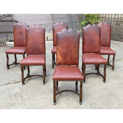 F21137 - Set of Six Antique Dining Chairs