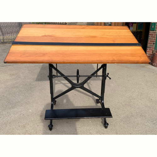 F21178 - Antique Drafting Table