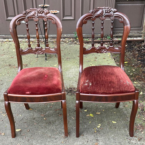 F21202 - Pair of Antique Chairs