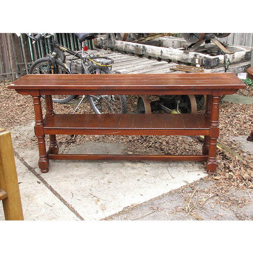 F15136 - Vintage Oak Sofa Table
