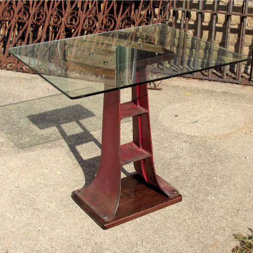 F16142 - Custom Industrial Style Side Table