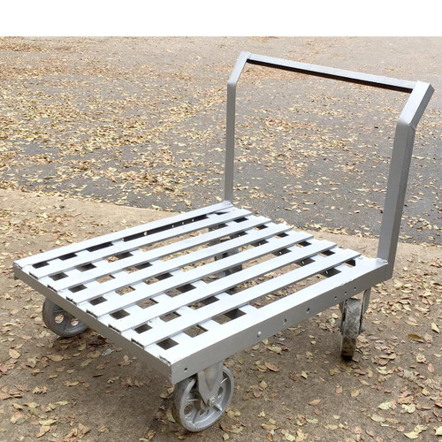 F16169 - Vintage Industrial Steel Brick Cart