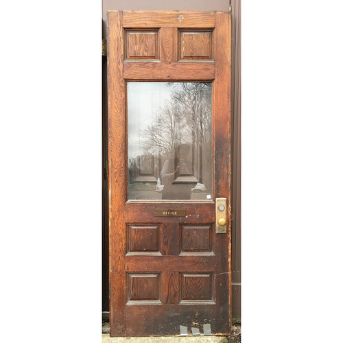 "D17041 - Antique Exterior Door 34"" x 90"""