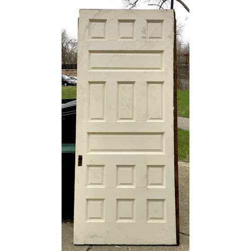 "D17044 - Antique Interior Pocket Door 43-1/4"" x 99-1/2"""
