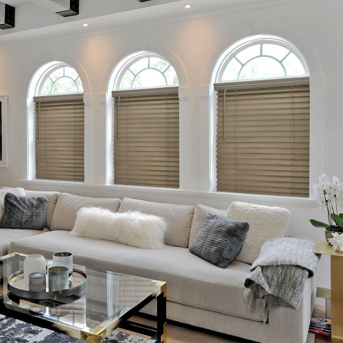 Norman® SmartPrivacy® Normandy® Cordless Wood Blinds