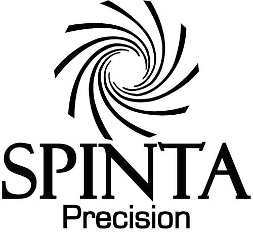 "SPINTA PRECISION STICKER 3""x3"""