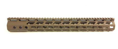 "SPINTA 15"" SPL15 FDE Keymod Free Float Rail (Sale)"