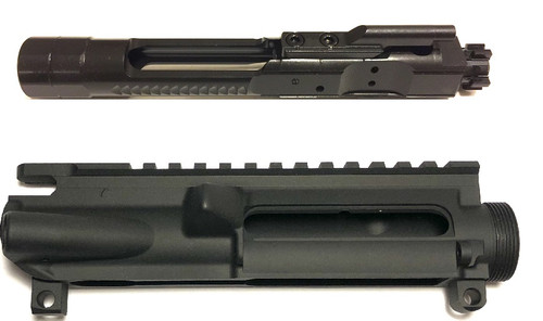 COMBO DEAL 5.56 Enhanced BCG & Teflon Coated AR-15 Stripper Upper Receiver (Sale)