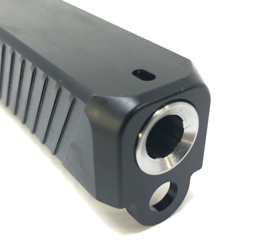 Glock 19 Flush Cut & Deep Crown Stainless Steel Barrel Gen 1-4 (Sale)