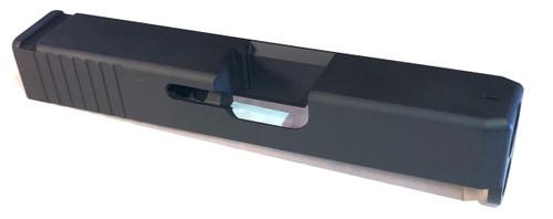 Glock 26 Gen 1-4  OEM style Slide with dovetail black
