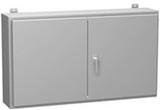 1422WW12   48 x 48 x 12 Double Door Enclosure with Panel