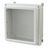 AM1224RW - Lift-Off 4-Screw Raised Window Cover Enclosure