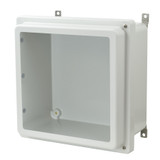 AM1226RHW - Hinged 2-Screw Raised Window Cover Enclosure