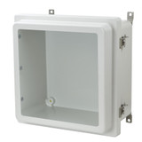 AM1226RTW - Twist Latch Hinged Raised Window Cover Enclosure