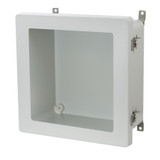 AM1226TW - Twist Latch Hinged Window Cover Enclosure
