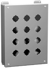 1435A   Mild Steel Enclosure (30.5mm; 1 Hole)
