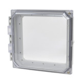 AMHMI88CCHTP | Hinged 2-Screw Clear Cover  8 x 8 HMI Cover Kit | Wistex II, LLC