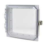 AMHMI88CCL | 8 x 8 HMI Cover Kit with hinged clear cover and snap latch