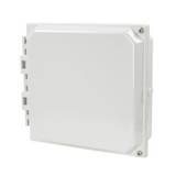 AMHMI88H | Hinged 2-Screw Solid/Opaque Cover 8 x 8 HMI Cover Kit | Wistex II, LLC