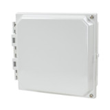 AMHMI88HTP | Hinged 2-Screw Solid/Opaque Cover 8 x 8 HMI Cover Kit | Wistex II, LLC