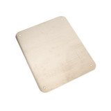 UHP1210 | Ensto Aluminum full cover front panel for use with 12in x 10in enclosures