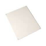 UBP1210P | Polycarbonate back panel for use with 12in x 10in enclosures