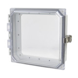 AMHMI88CCL   8 x 8 HMI Cover Kit with hinged clear cover and snap latch