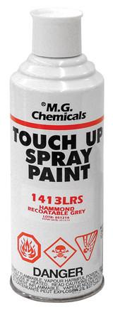1413BKLGS   Hammond Manufacturing 12 oz. Spray Can (Black - Low Gloss)