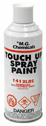 1413WH9003   Hammond Manufacturing 12 oz. Spray Can (White - RAL 9003)