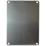 PLA86   8 x 6 Aluminum Back Panel